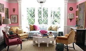earth tone decor interior chic contemporary living room warm design idea  small decorations