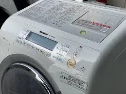 Máy giặt cũ nội địa National NA-VR2200,hàng Vip sấy block GIẶT NƯỚC NÓNG