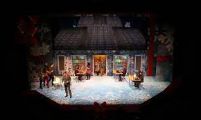 Theater by design is offering a complete newsies scenic, prop and costume package. Czerton Lim Set Design Elf The Musical