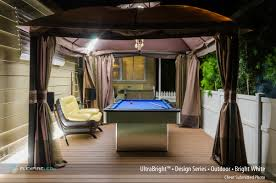 flexfire leds accent lighting bedroom. Outdoor LED Strips Illuminate This Pool Table. Check Out Our Other Luxury Lighting Options At Flexfire Leds Accent Bedroom L