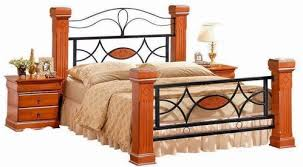 Omega <b>Solid</b> Wooden & Metal <b>Bed Frame</b> | Fab Beds