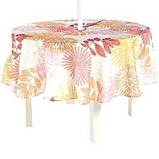 vinyl patio tablecloths elegant round fitted tablecloth of with umbrella hole