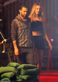 But adam, 39, doesn't take all the credit for his star status. Taking Their Love Onscreen Adam Levine Films Passionate Scenes For New Maroon 5 Music Video With Model Wife Behati Prinsloo Daily Mail Online