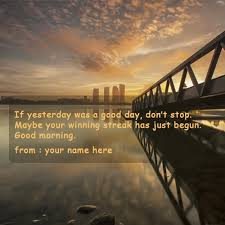 Morning Motivational Quotes Delectable Good Morning Motivational Quotes Name Pictures