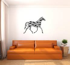 horse wall art back to the decals amazing new trend in home decor stickers horse wall art home decor  on horse wall decor stickers with horse wall art decals for walls eight horses sticker galloping decor