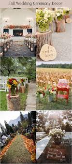 Backyard Fall Wedding