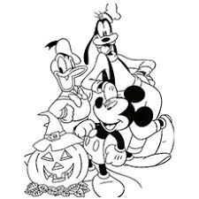 Small Picture 25 Amazing Disney Halloween Coloring Pages For Your Little Ones