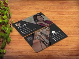 Photographer Business Cards Design