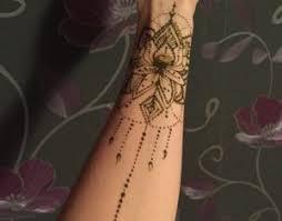 Tetování Hennou Moje Dílna