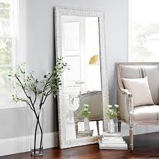 white floor mirror. White Floor Mirror Amazing 6 Beautiful And Elegant Mirrors Cute Furniture Pertaining To 12