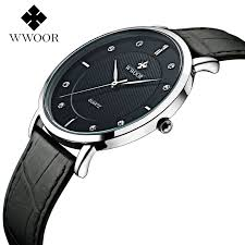 compare prices on thin mens watches online shopping buy low price 2016 luxury brand men watches ultra thin genuine leather clock male quartz sport watch men waterproof