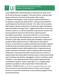 """Il prof. Marco Pieri dell'Istituto Rita Levi Montalcini di Acqui Terme (ex  Fermi) ha illustrato il progetto """"Contratto d"""
