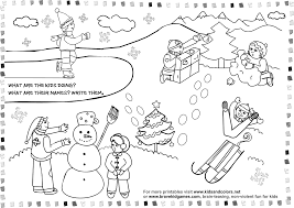 Small Picture Winter Season Coloring Pages Crafts and Worksheets for Preschool