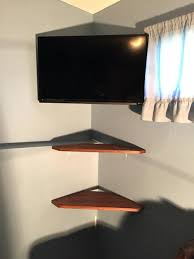 wall mount with shelf bracket ikea mounted glass for dvd player s system