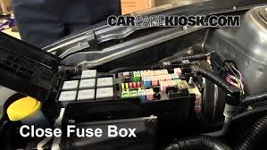 replace a fuse 2010 2014 ford mustang 2013 ford mustang 3 7l v6 6 replace cover secure the cover and test component