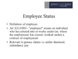Employee Status