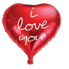 <b>Action</b>! <b>Шар фольгированный I</b> Love You API0215, цвет красный ...
