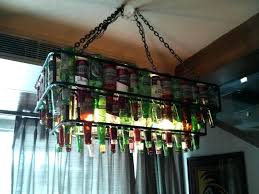 diy chandelier kit beer bottle chandelier kit home diy chandelier light kit