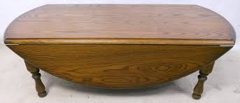 circular dropleaf oak coffee table by old charm 2620 p jpg
