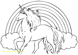 free unicorn coloring pages 3 page