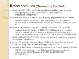 360 Evaluation Awesome Critique Contemporary Practice Measurement Methods Video Recording