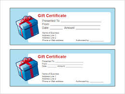 16 Free Gift Certificate Templates Examples Word Excel