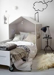 Scandinavian House Bed For Kids Room