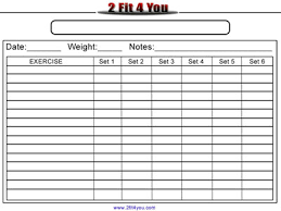 Weightlifting Log | Weight Lifting Log Sheet. Abs Workout Message ...