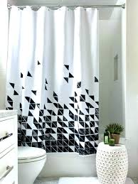 black and white shower curtain target gray and white shower curtain target red white black curtains