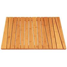 Amazon Com Bamboo Deluxe Shower Floor And Bath Mat Skid