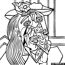 Small Picture Pablo Picasso Coloring Pages 24710 Bestofcoloringcom