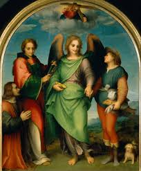 file andrea del sarto the archangel raphael with tobias st leonard and