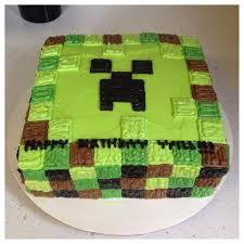 Creeper Cake Design Minecraft Buttercream Creeper Cake Www Facebook Com