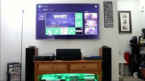 my gaming setup 2016 xbox one ps4 macbook pro home theater desk vlog 8 you