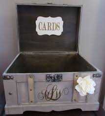 18 diy wedding card boxes for your guests to slip your congrats into Wedding Card Holder Chest vintage wedding card box extra large rustic wedding card box vintage trunk wedding box with custom treasure chest wedding card holder