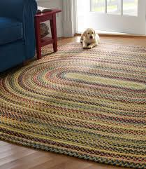 l l bean braided wool rug oval