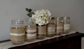 Decorating Mason Jars With Ribbon Wedding Decor New Mason Jar Wedding Decorations Theme Ideas For 78
