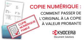 COPIE NUMERIQUE : Comment passer de l'original à la copie à valeur probante  ? | Webikeo