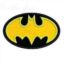 Free Batman Machine Embroidery Designs Batman Applique Embroidery Design