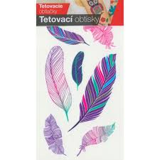 Tetovací Obtisky Peříčka Hobbykohoutcz