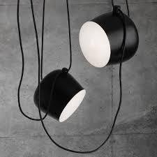 pendant lighting black. flos aim small pendant light black lighting