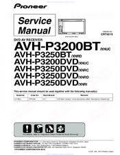 pioneer avh p3200dvd manuals pioneer avh p2300dvd wiring diagram we have 4 pioneer avh p3200dvd manuals available for free pdf download service manual, operation manual, installation manual