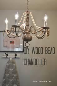 attractive wooden bead chandelier 18 impressive 25 laundry 2b007rrr lighting alluring wooden bead chandelier