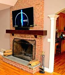 mounting tv on brick fireplace medium size of excellent mount install