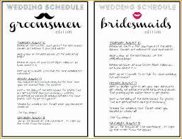 Wedding Day Itinerary Template Fresh 5 Wedding Day Schedule