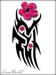 эскиз тату узор с цветком татуировку рф фото и эскизы