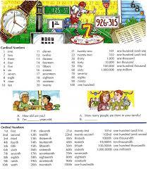 Basic English Chart English Numbers Counting Chart Learning English Basic
