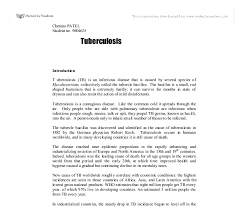 tuberculosis and its treatment a level science marked by document image preview