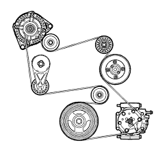 i need a serpentine belt diagram for a 2005 chevrolet equinox