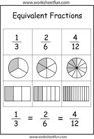 Printable Board Game Equivalent Fractions Super Teacher Worksheets ...